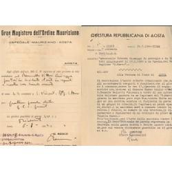Tessera PNF Partito Nazionale Fascista 1926