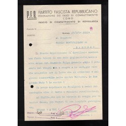 Tessera Federazione Provinciale Associazione Nazionale Combattenti 1926
