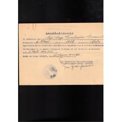 Tessera Repubblica Sociale Italiana Opera Nazionale Dopolavoro 1945