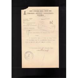 Tessera Partito Nazionale Fascista anno 1925