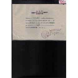 Tessera OND Opera Nazionale Dopolavoro RSI 1944