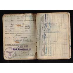 Fregio da manica Battaglioni Camice Nere 1935 versione da truppa