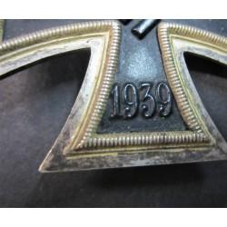Bozzetto in gesso di testa del Duce , firmato