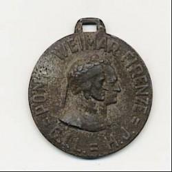 Medaglia Commemorativa 55° Anniversario Milizia, argento