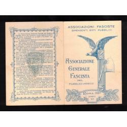 Cartolina Giovani Fascisti
