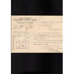 Tessera Associazione Generale Fascista Pubblico Impiego 1927