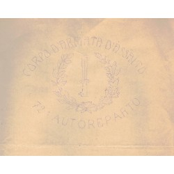 Fregio di specialita' Genio Zappatori Libia 1911/1913